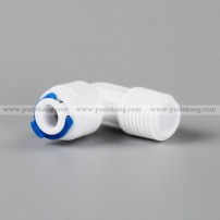 L type male elbow adapter