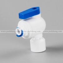 NPT 90° ball valve