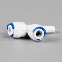 T type stem/plug in tee adapter