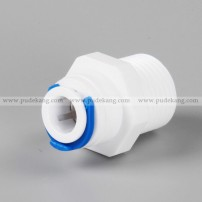 Male straight adapter